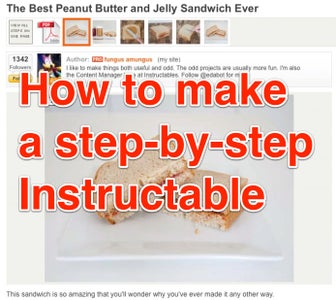 How to Make a Step-by-step Instructable
