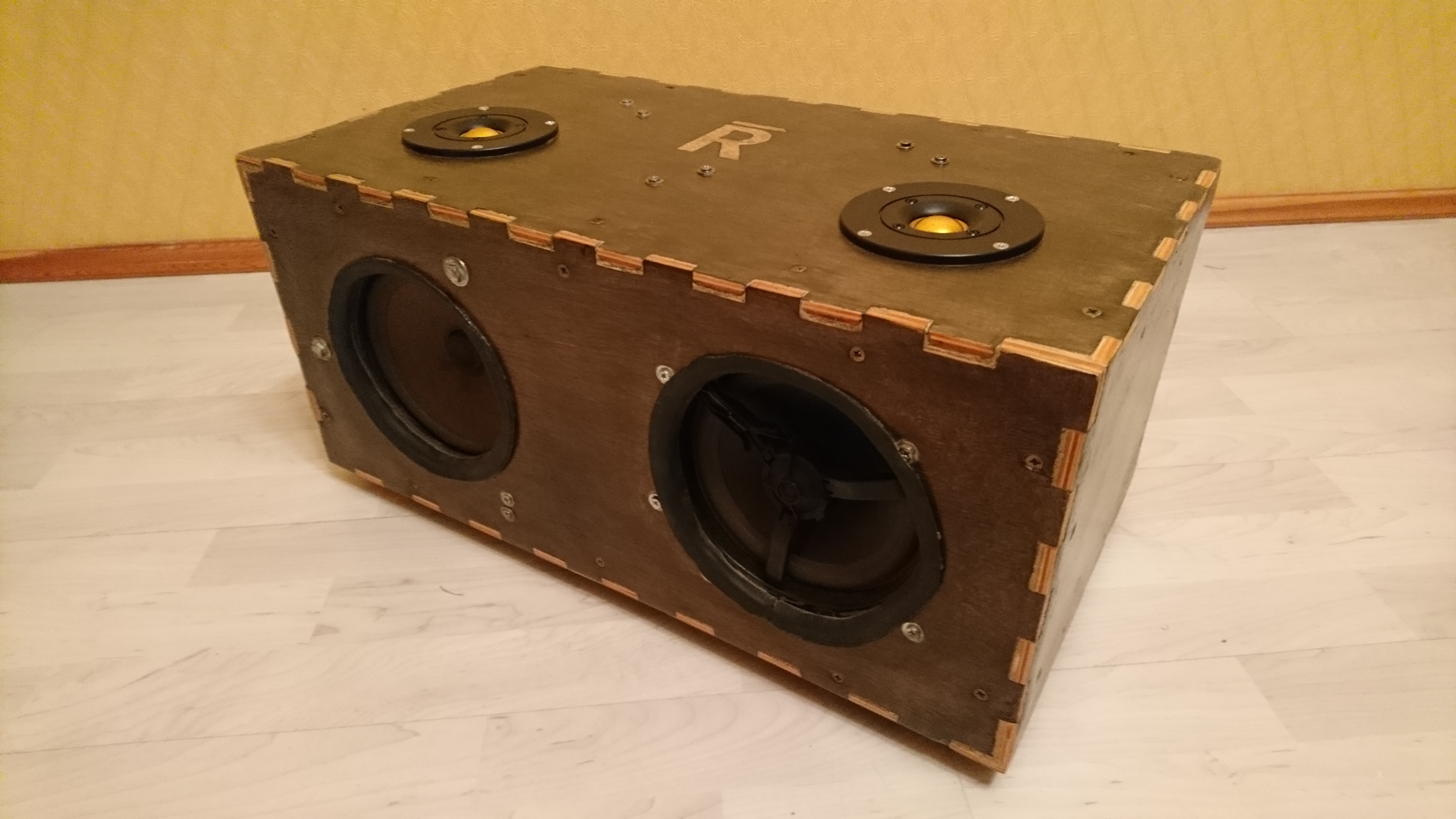Picture of (Not So) Portable Bluetooth Speaker