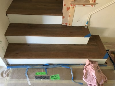 Adding the Final Treads and Risers to the Staircase