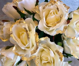 Mother's Day Gold Bouquet of Simply Gilded Blooms