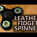 Leather Fidget Spinner