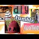 DIY Clothing for Fall (Tumblr/Pinterest/Brandy Melville Inspired)