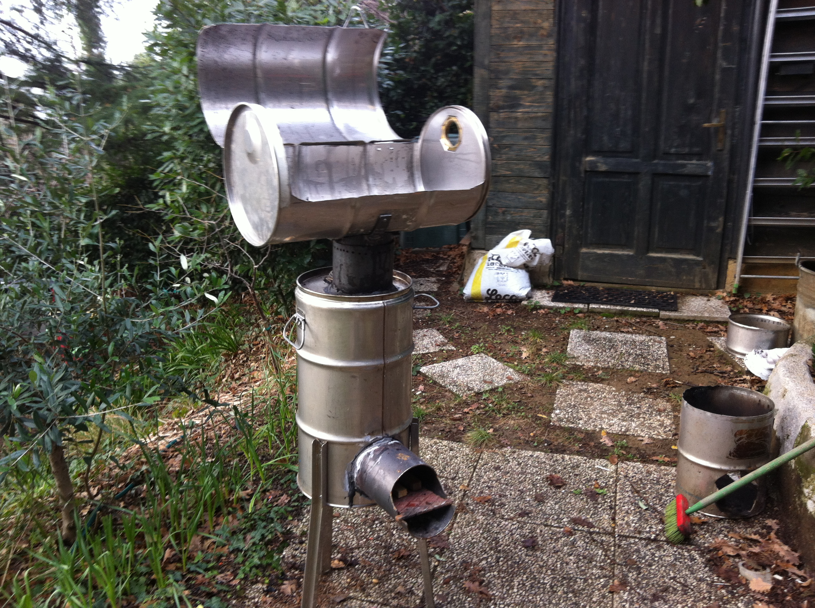 Picture of Making the BBQ