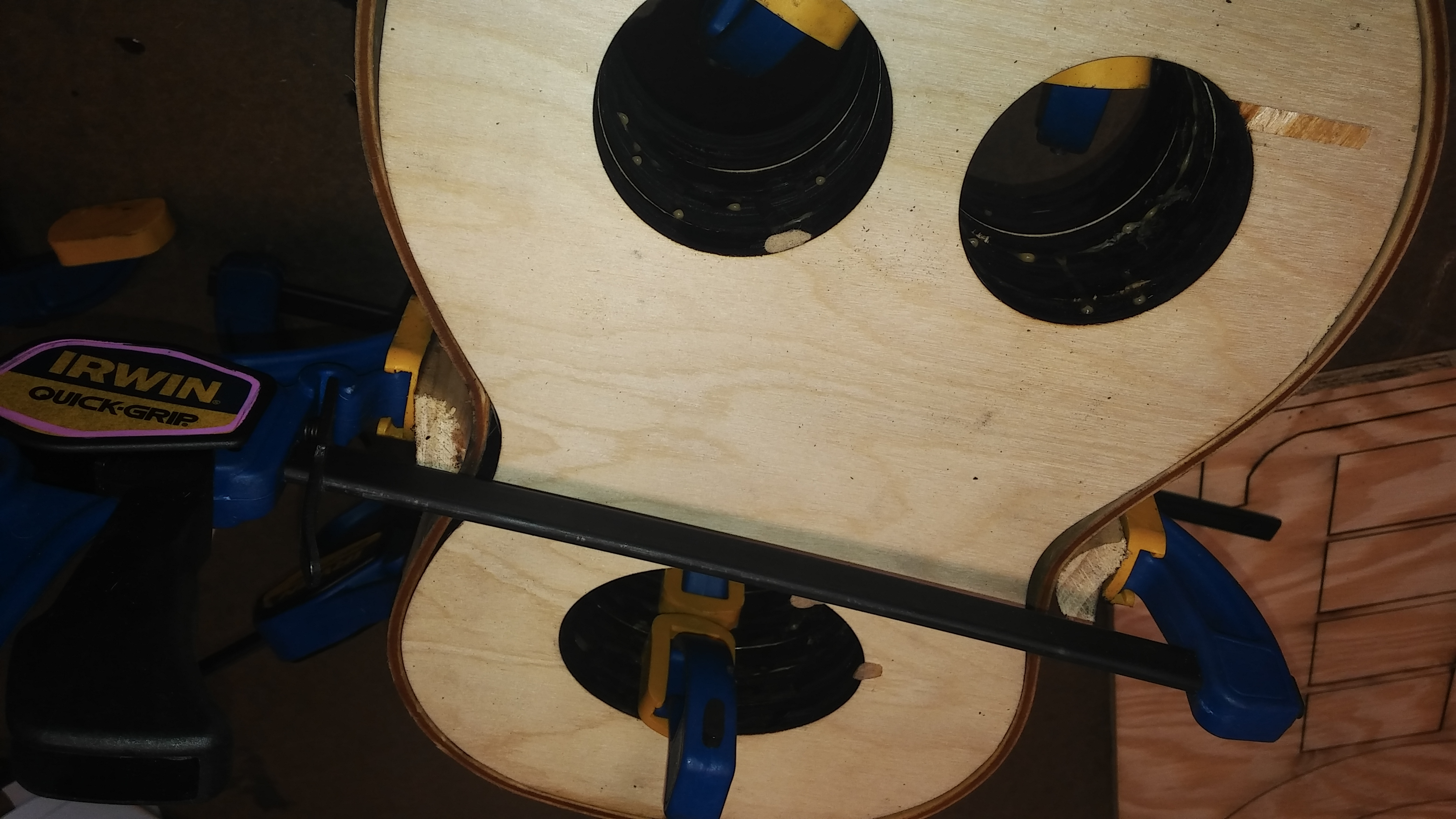 Picture of Put Side Panels on Form