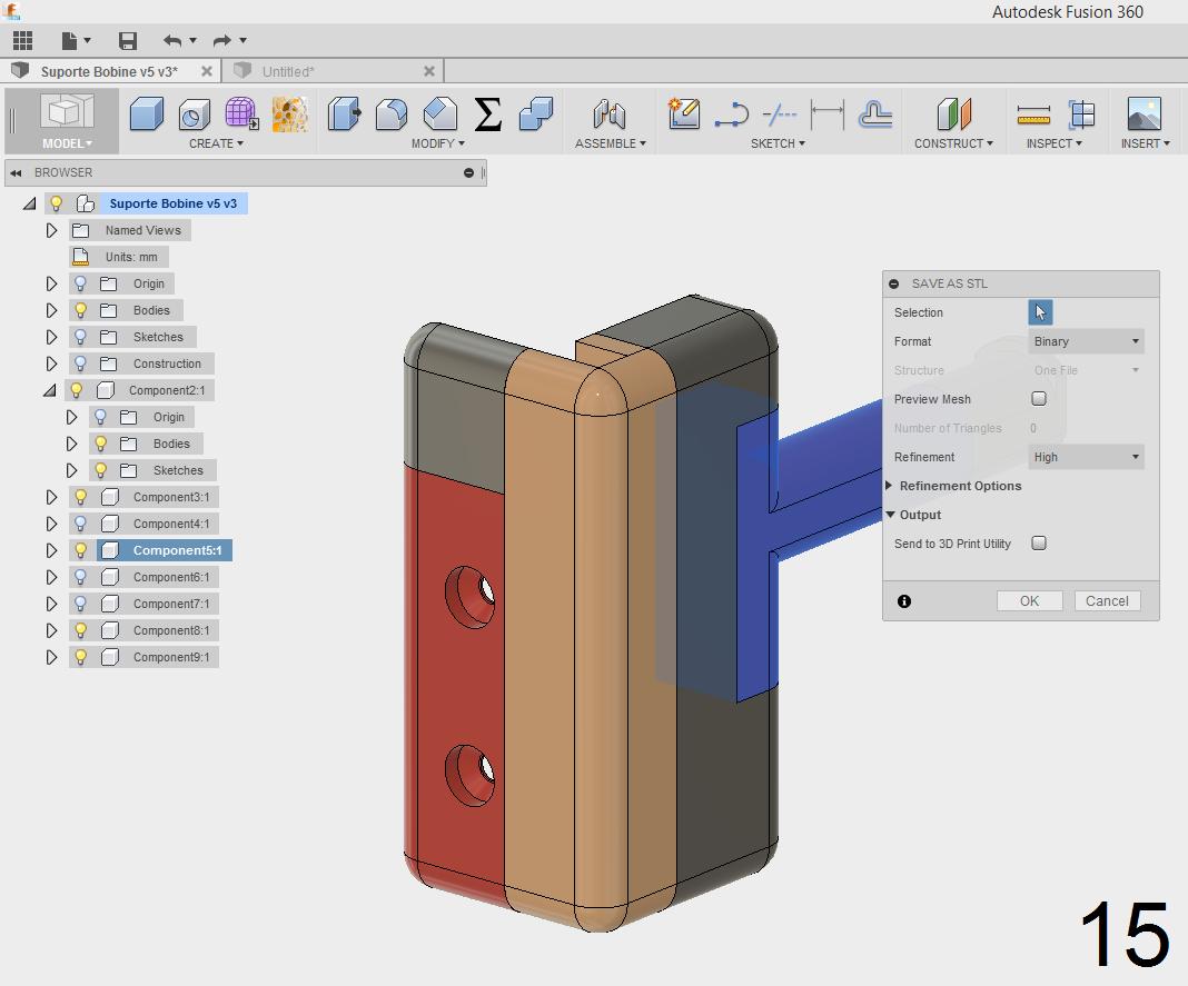 Picture of Split 3D Model