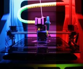 3D Printer RGB LED Feedback