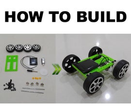 How to Assemble DIY Solar Toy Car Kit