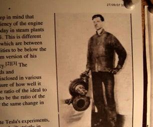 The Making of the Prototype Tesla CD Turbine