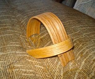 Bent Wood Ipod Stand
