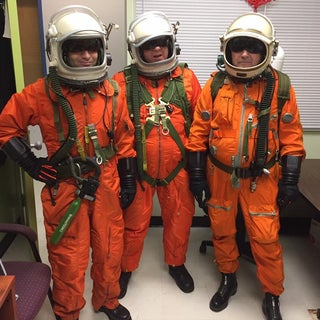 Special Effects Space Suit