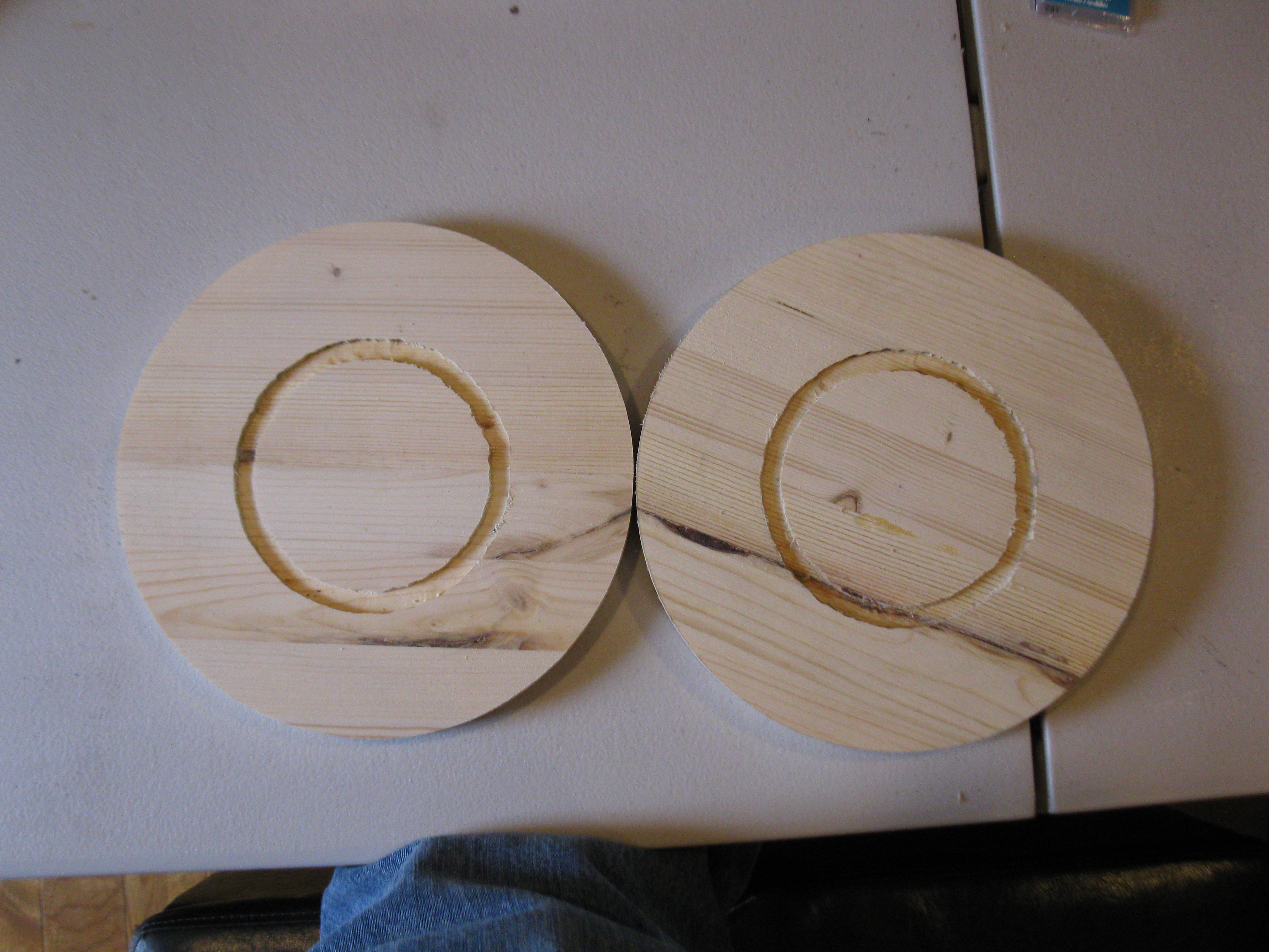 Picture of Preparing the Top and Bottom Discs