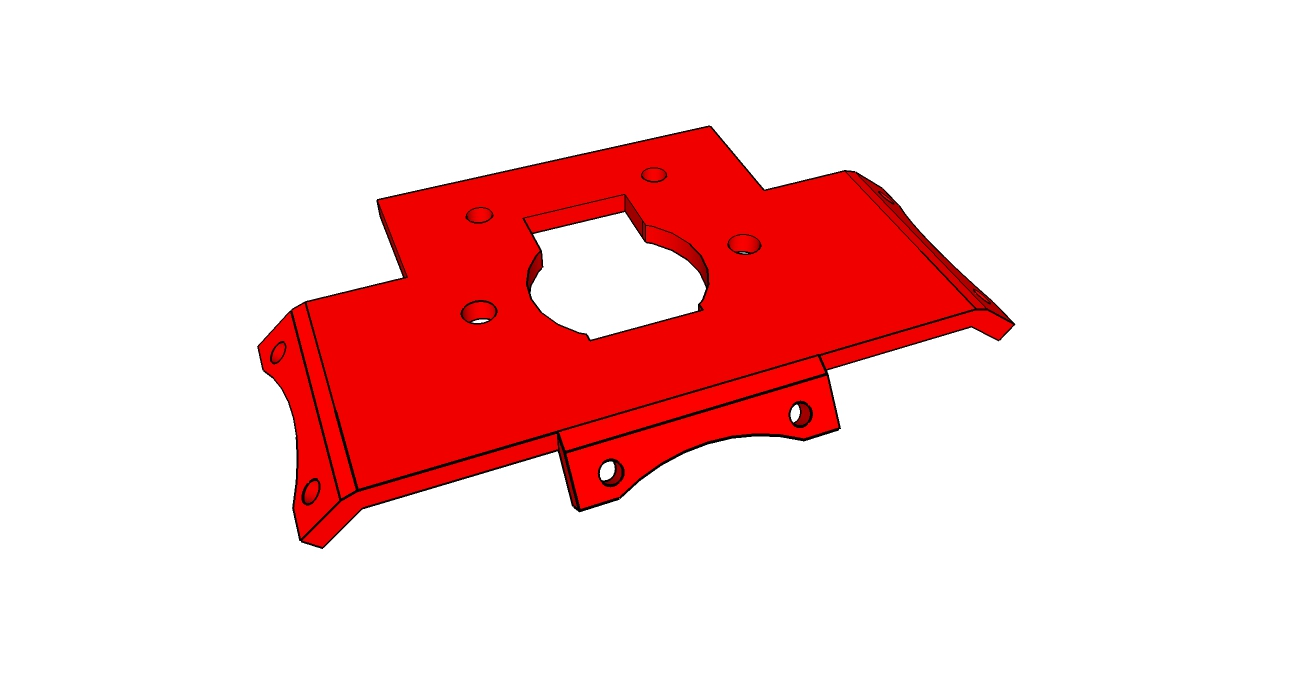 Picture of Greg's Extruder Mount