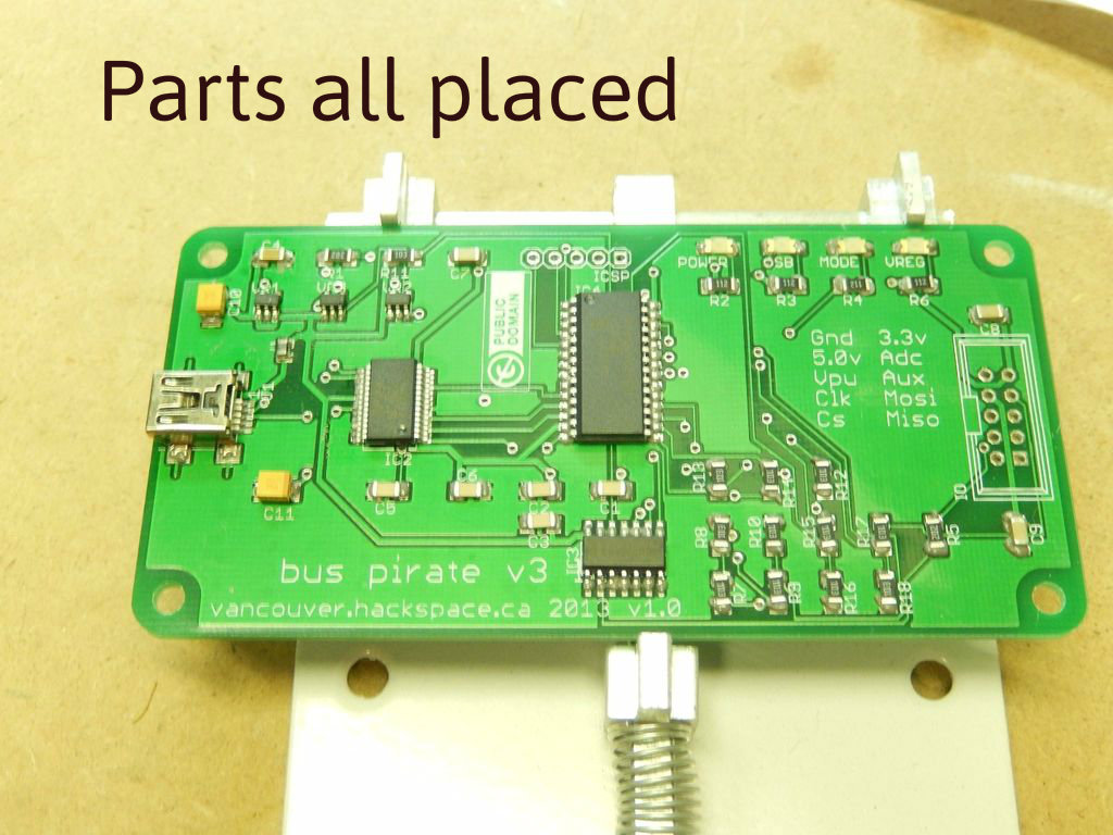 Picture of SMD Overview