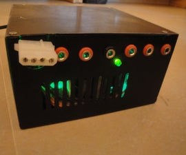 How to make a Laboratory ATX Power Supply Unit