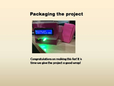 Packaging the Project