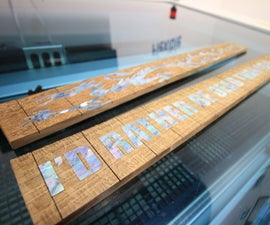 Mother of Pearl Guitar Fretboard