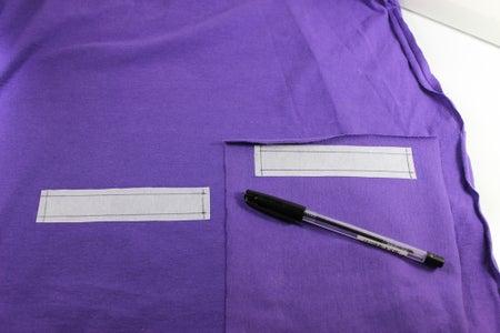 Making the Pocket: Zipper Opening