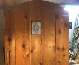 How to Build a Rustic Castle Door