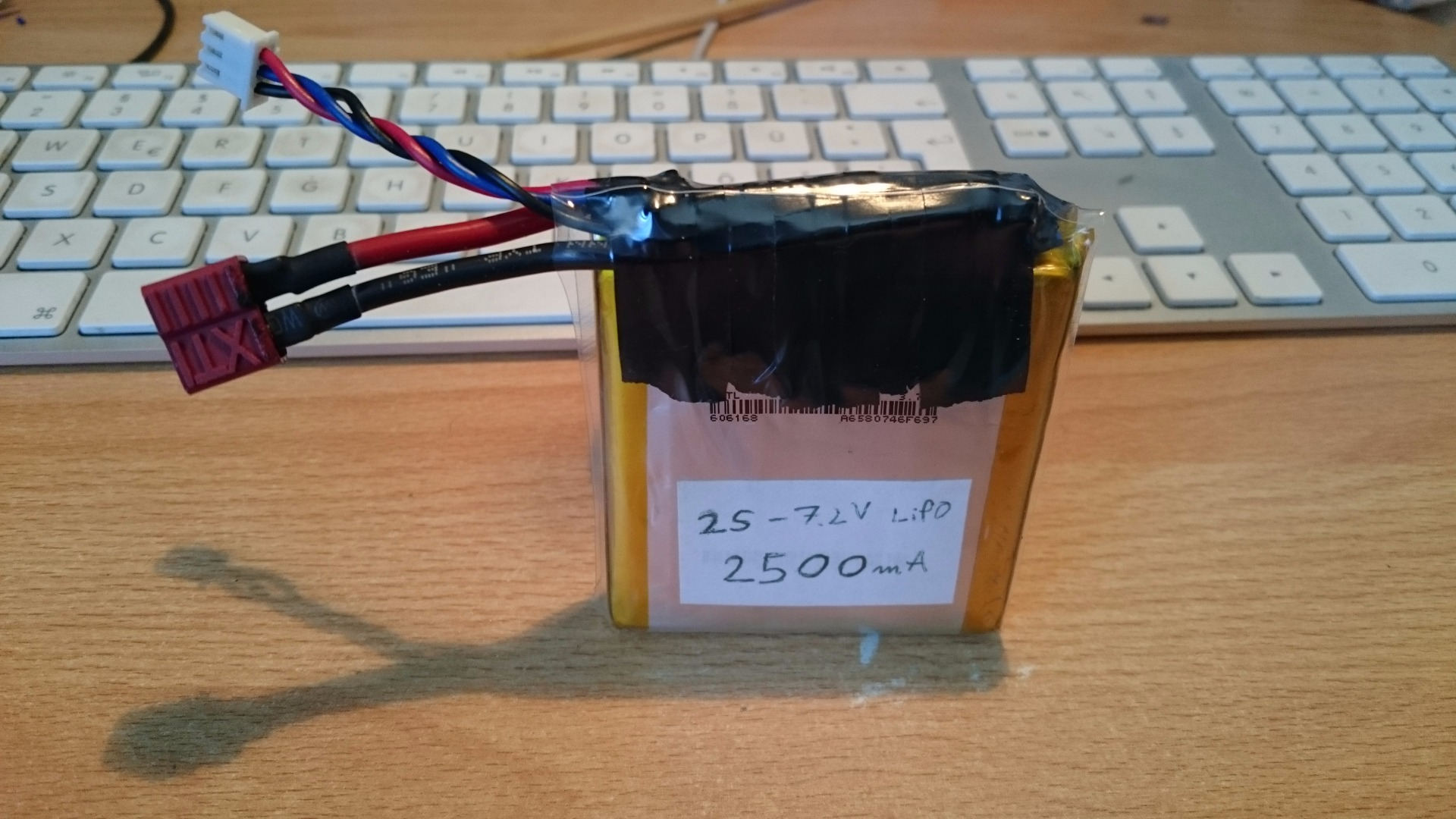 Picture of How to Build You Own LiPo Pack Out of Single Cells