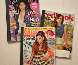 Magazine Cover Notebooks