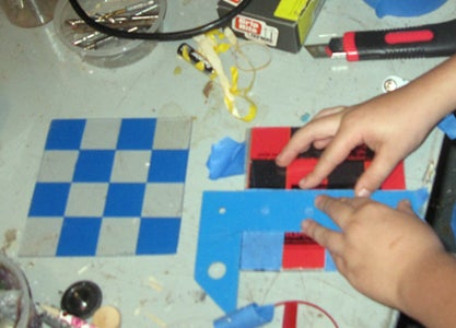 Making the Chessboard Pattern