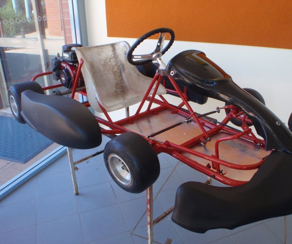 How to Design and Build a Go Kart.