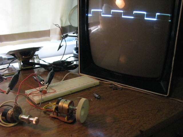 Picture of Music Visualizer (oscilloscope)