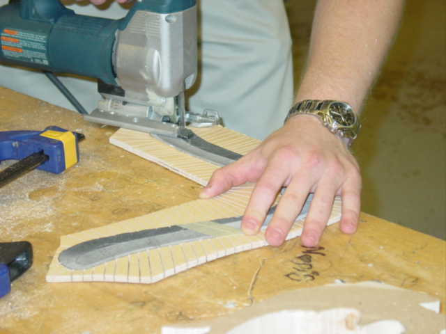 Picture of Cutting Out the Blank