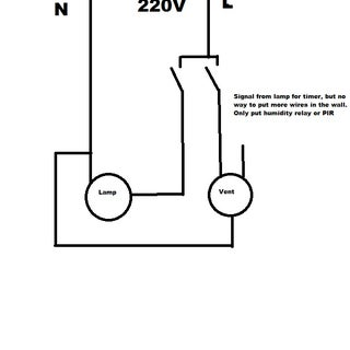 [DIAGRAM_34OR]  Wiring up a bathroom exhaust fan-how to? - Instructables | Wiring Diagram For A Bathroom Fan With Timer |  | Instructables