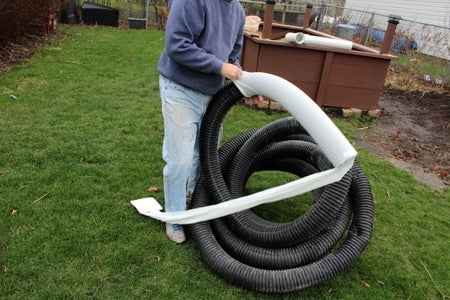 Assemble Drainage Pipe