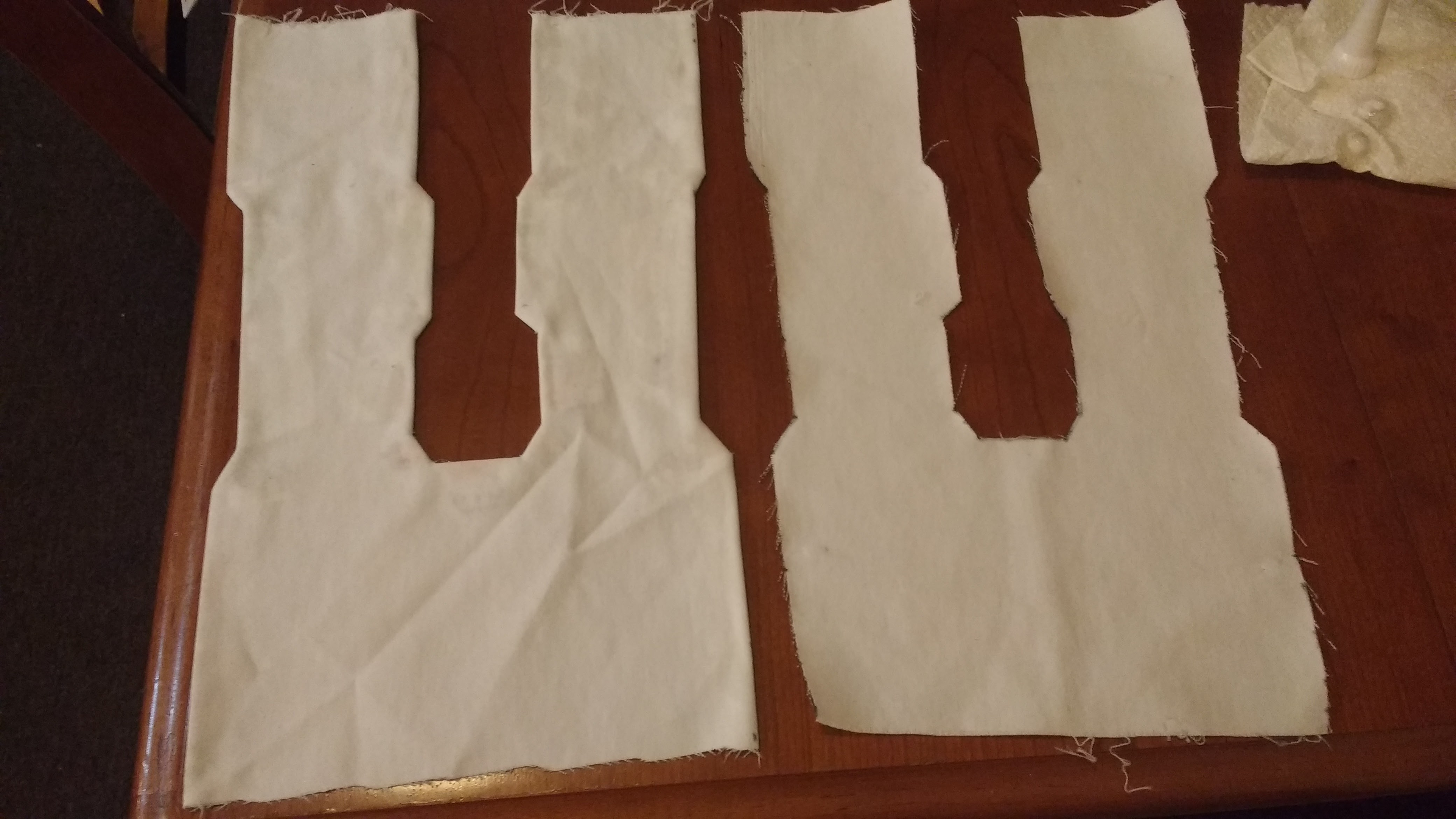 Picture of Cut Out and Hem the Center White Stripes