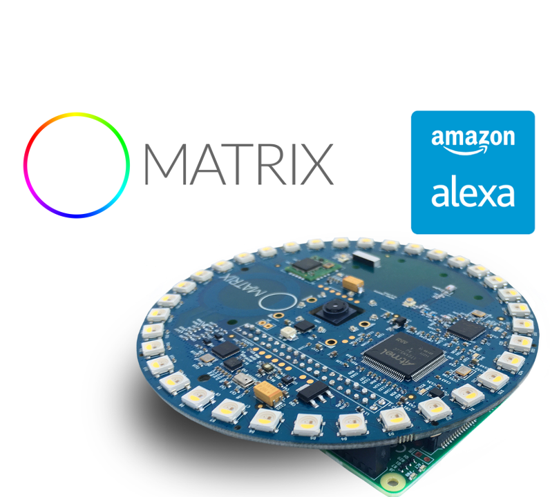 """Picture of Build DIY Amazon Alexa With a MATRIX Creator on """"Hands-free"""" Mode"""