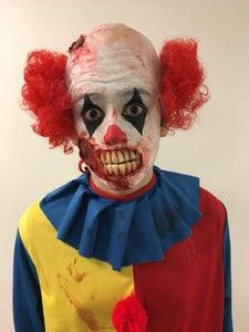 Zombie Clown Prosthetic Makeup