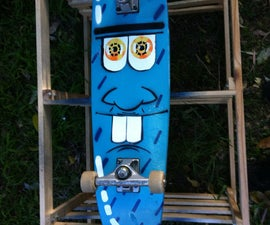 How To Paint A Skate Deck