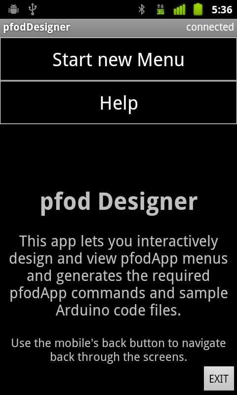 Picture of Interactive Design and Code Generation of Custom Android Menus for Arduino -- No Android Programming Required