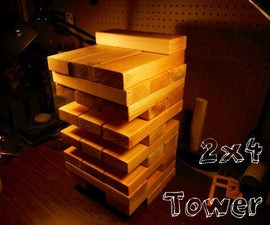 Two By Four Tower Yard Game