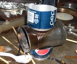 Hobo stove / hot chocolate maker