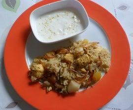 Paneer Vegetable Biryani