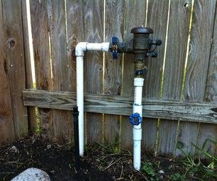 DIY Pest Control through Lawn Sprinkler System