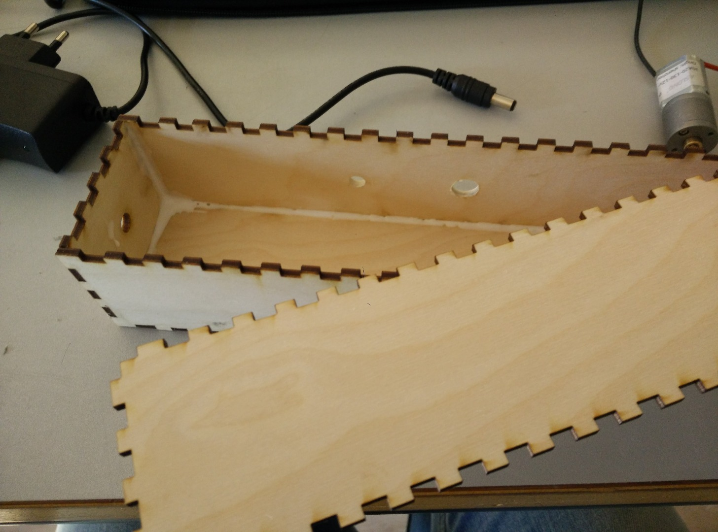 Picture of Lasercutting the Base