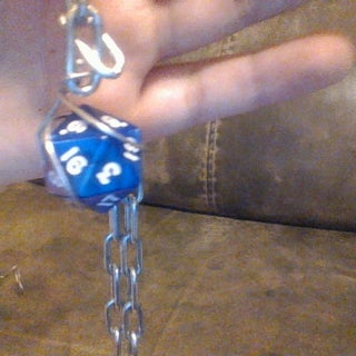 Easy Removable Dice Jewellery