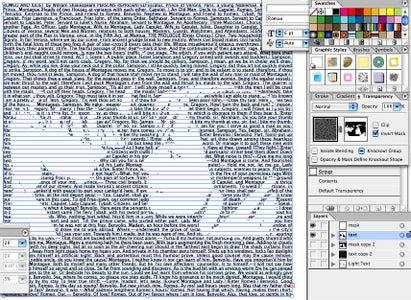 Create Dark Text Layer