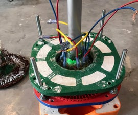 3D Printed Axial Flux Alternator and Dynamometer