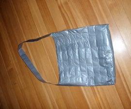 Duct tape shoulder bag