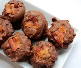 chocolate and bacon cookies