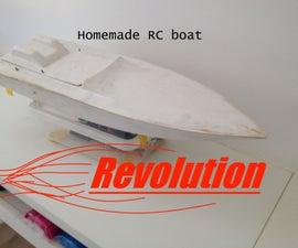 Homemade Brushless R/C Boat ---Revolution---