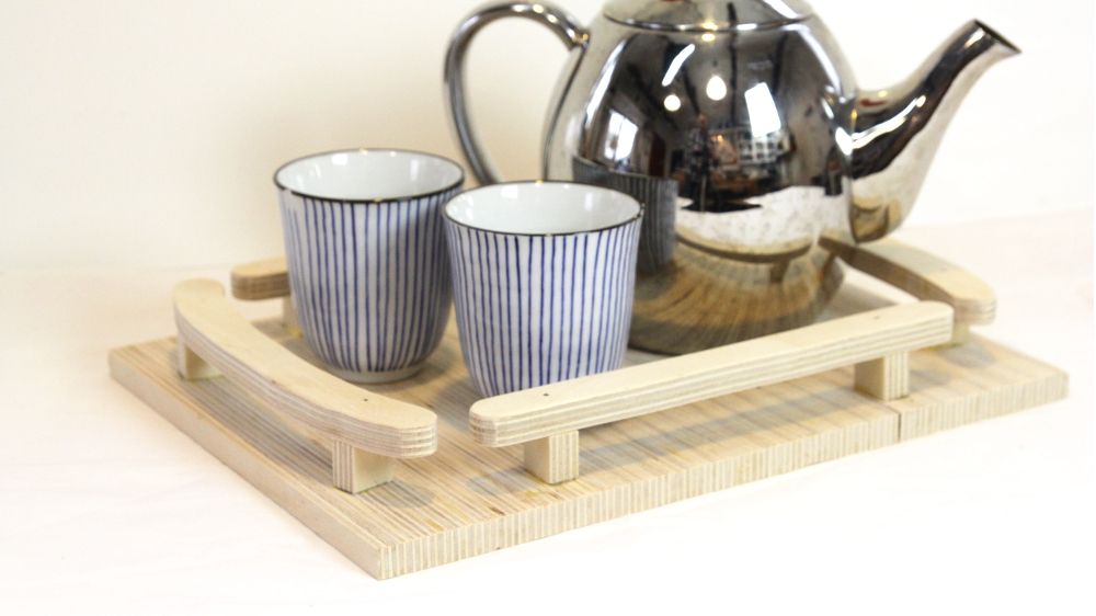 Picture of DIY Modern Plywood Tray