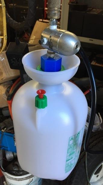 Picture of Power Brake Bleeder From a Garden Sprayer