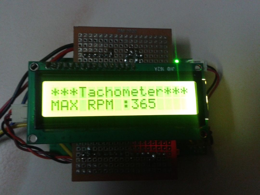 Picture of Linkit One- Portable Tachometer Noncontact