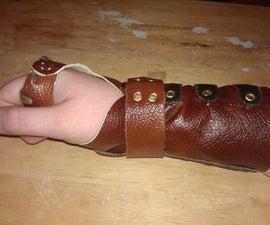 Leather Wrist Splint/Brace